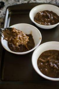 Ladle the onion soup