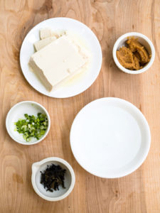 All ingredients for 5-Minute Homemade Vegan Miso Soup recipe