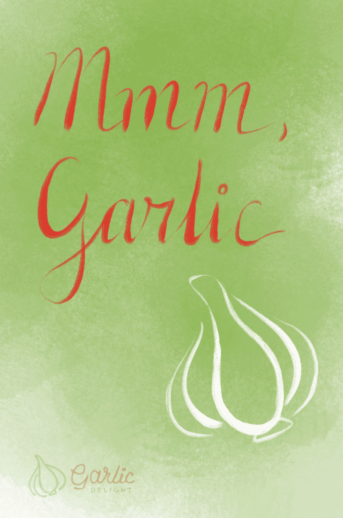 Mmm Garlic. Inspiration from garlicdelight.com.