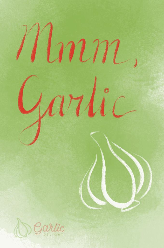 Mmm, Garlic: We've got sprouts