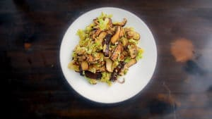 How to Stir Fry Tofu, Cabbage, and Mushroom (Season 1, Episode 2) Cover Photo