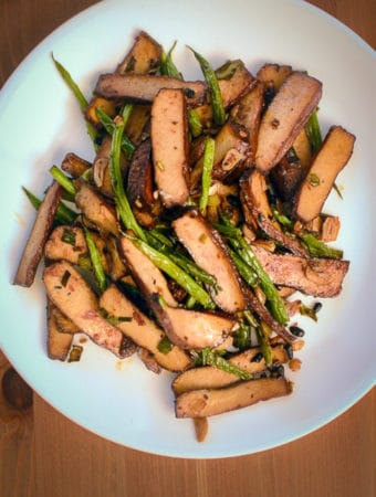 How to Stir Fry Tofu and Green Beans (Season 1, Episode 3) Cover Photo