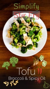 How to Make Tofu and Broccoli Salad (Season 1, Episode 4) Pinterest Cover Photo