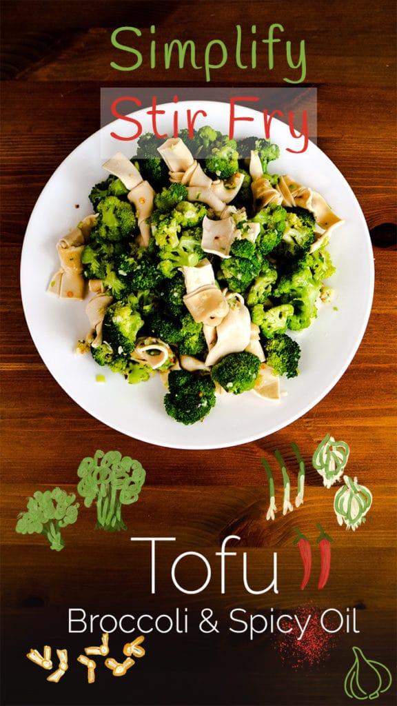 How to Make Tofu and Broccoli Salad (Season 1, Episode 4) Pinterest Cover Photo