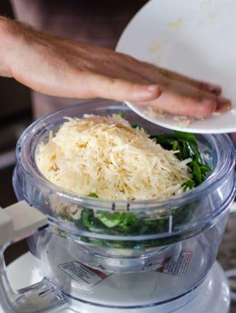 Add the Parmesan-Reggiano cheese
