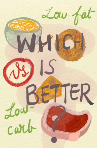 Which is better? Low-fat vs. low-carb diet? Stanford study weighs in.