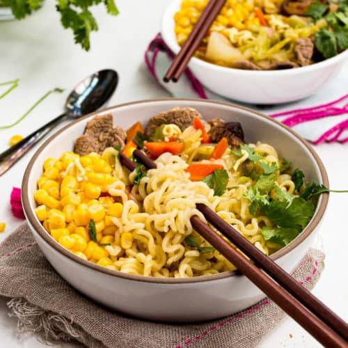 Easy Ramen Noodle Soup Transforms Cheap Noodles Into A Full Meal