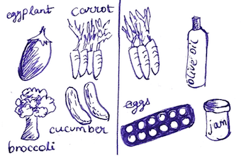 produce only versus medley cartoon
