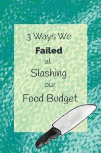 3 Ways We Failed At Slashing Our Food Budget story title illustration
