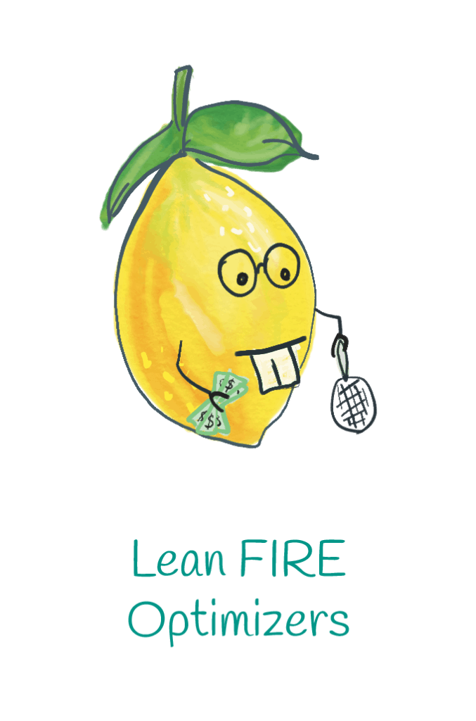 Lean FI optimizers lemon illustration