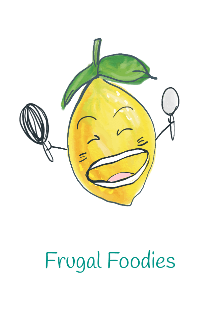 Frugal Foodie lemon illustration