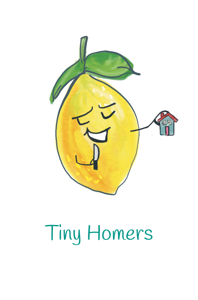 Tiny Homers lemon illustration